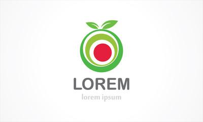 ecology fruits organic logo