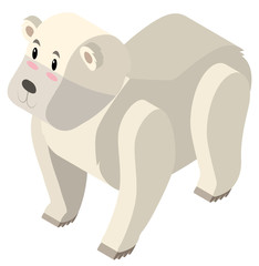 3D design for polar bear