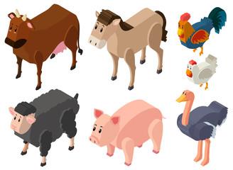 3D design for farm animals