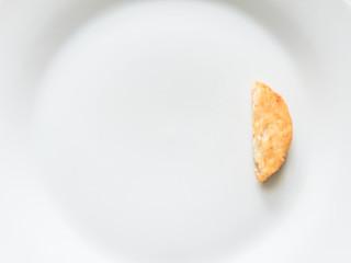 朝食のハッシュポテト