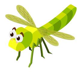 3D design for dragonfly