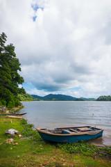 Rowboat in Palawan Lake