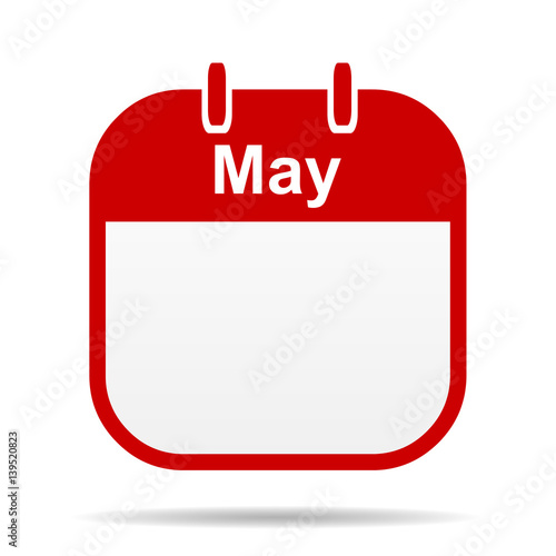 Calendar May Icon : Quot may calendar icon stock photo and royalty free images