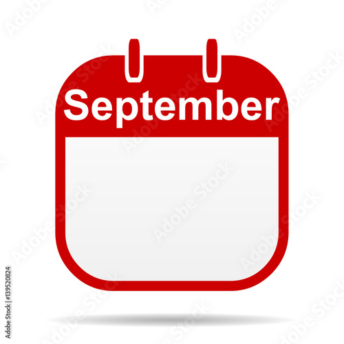 Calendar Illustration Search : Quot september calendar icon stock photo and royalty free