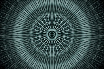 Abstract x-ray mandala