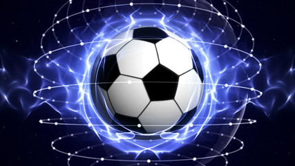 SOCCER BALL Computer Graphics Background