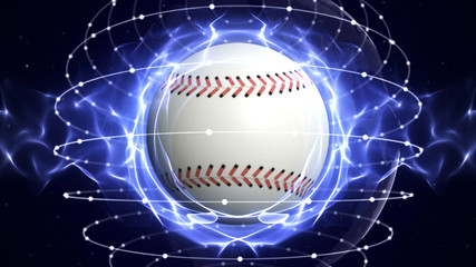 BASEBALL BALL Computer Graphics Background