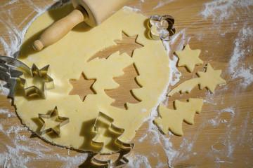 Printed kitchen splashbacks Fairytale World Plätzchen für Weihnachten