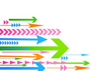 Abstract arrow vector illustration