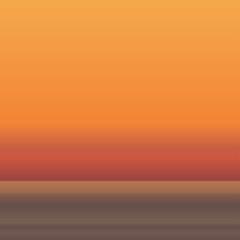 ocean morning horizon background