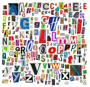 Colorfull Alphabet