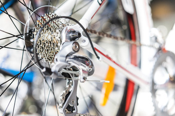 Selective focus of bicycle gear