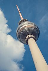 Berlin - Fernsehturm - Totale