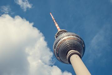 Berlin - Fernsehturm - Landscape