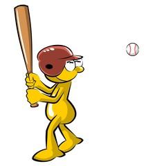 Funny Baseball batter