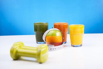 Zdrowe soki z owoców