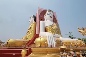 Kyaikpun Pagoda, A Pagoda of four giant buddha statues