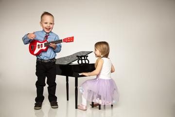 kleine Musikband