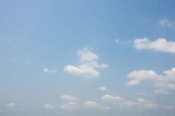 Background of sky and clouds