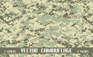 modern digital camouflage