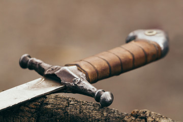 the handle of the sword , the Ukrainian sword , medieval weapons