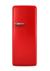 Retro Refrigerator Isolated