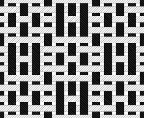 Seamless tartan, Pattern checkered. Vector.