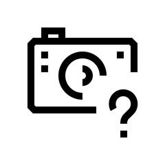 Camera mini line, icon