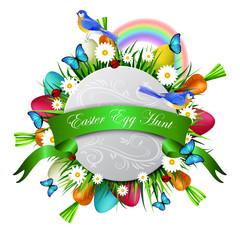 Happy ester card