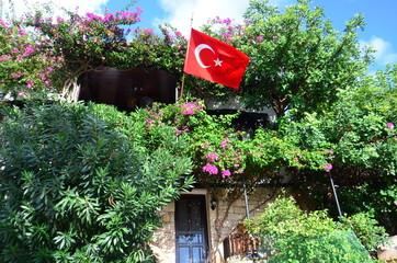 ville de Kaş en Turquie