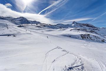 Mountain skiing - Italy, Valle d'Aosta, Breuil-Cervinia, Aosta Valley, Cervinia