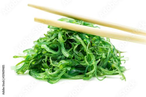Japanischer algensalat