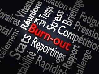 Illustration du burn-out et de ses causes