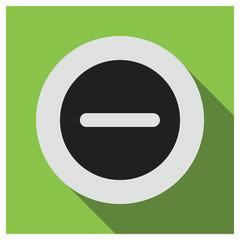 Do not enter vector icon