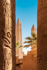 Die zwei Obelisken