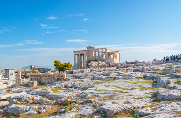 The ancient Erechtheion