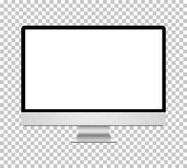 Computer realistic vector on isolated background