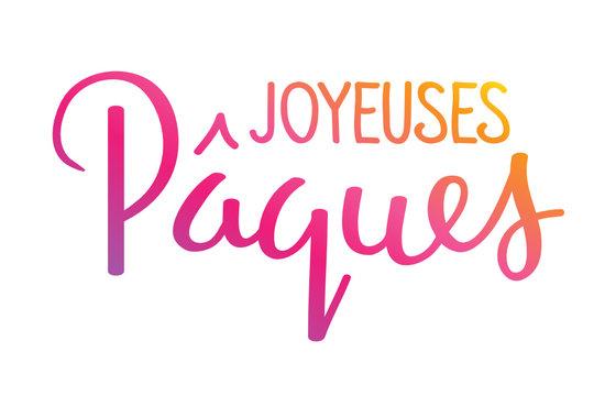 Bannière « JOYEUSES PAQUES »