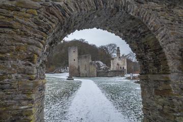Burg Hardenstein im Winter