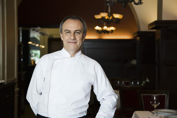 Chef, portrait