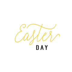 Easter Day Lettering