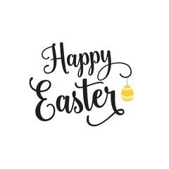 Happy Easter Lettering, Hanging Egg