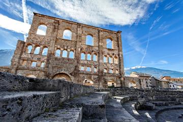 Teatro Romano – Aosta, Valle d'aosta, Italy