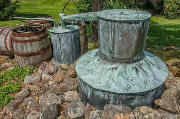 Tennessee moonshine still