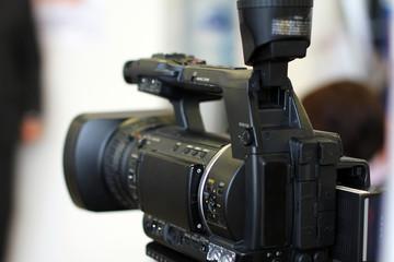 Filmkamera beim Presse Event