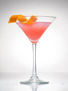 cosmopolitan cherry martini cocktail