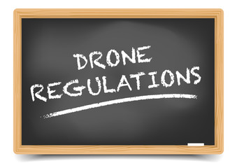 Blackboard Drone Regulations