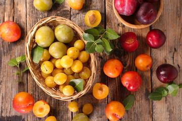 fresh plum