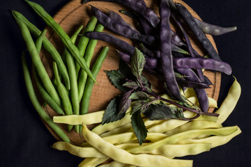 Three kinds of asparagus