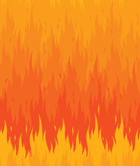 Fire flames pattern seamless background